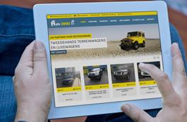 Website tweedehandswagens Halen